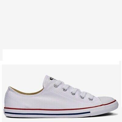Converse Chuck Taylor All Star Dainty 36 Damen Canvas slim Sneaker weiß Chucks   eBay