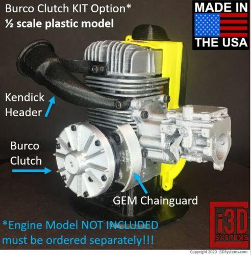 1//2 Scale Plastic Model Vintage Kart McCulloch BURCO Clutch KIT Option