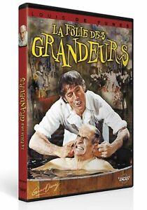 LA-FOLIE-DES-GRANDEURS-Louis-De-Funes-DVD-NEUF-SOUS-BLISTER