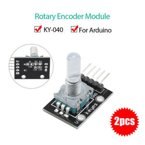2pcs-set-DC5V-5Pin-KY-040-Rotary-Encoder-Sensor-Module-Board-For-Arduino-AVR-PIC