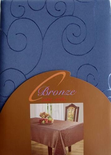 Nappe tissu damassé d/'ornement 110x110cm rectangulaire