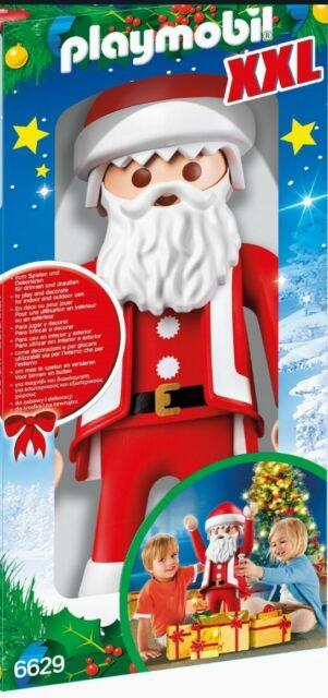 Playmobil XXL 6629 Weihnachtsmann 65 cm Grossfigur Christmas Père Noël Deko OVP
