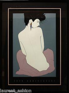 PATRICK-NAGEL-HAND-SIGNED-SERIGRAPH-SILKSCREEN-PLAYBOY-30TH-ANNIVERSARY-FINE-ART