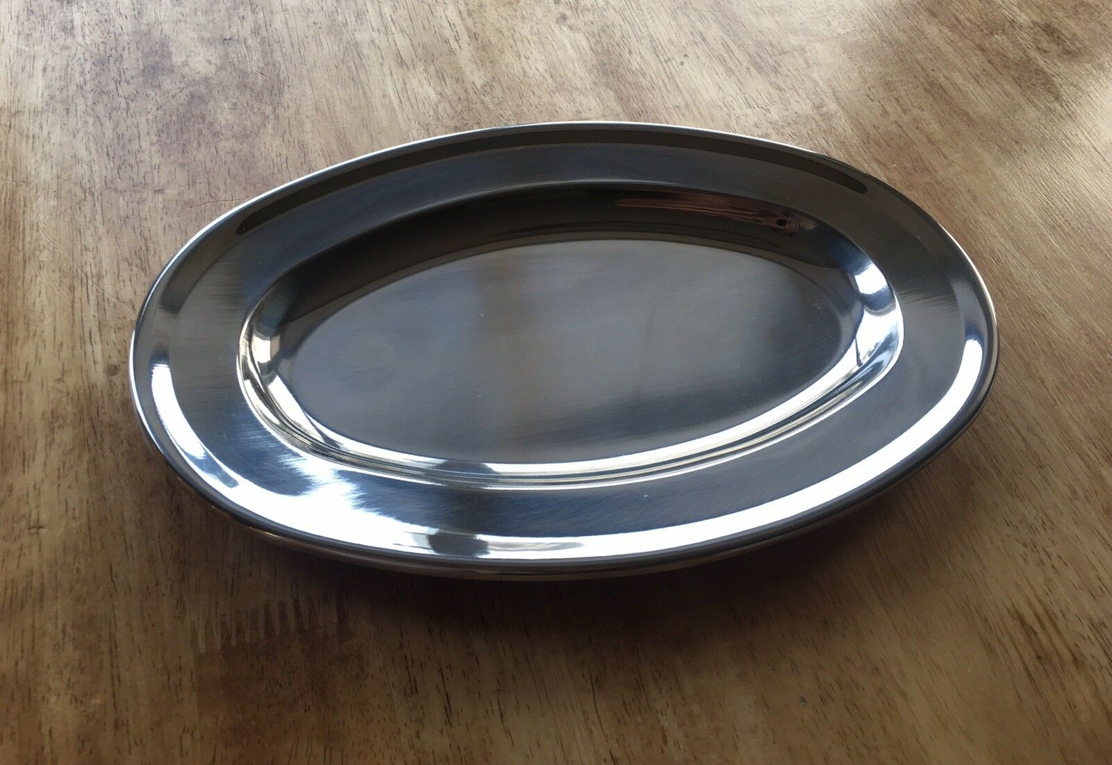 Vollrath Oval Stainless Steel Serving 12  Platter BRAND NEW Lot of 6