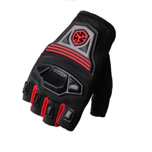 Motorbike Gloves Motorcycle Half-Finger Cycling Bike Fingerless MTB MC24D Scoyco
