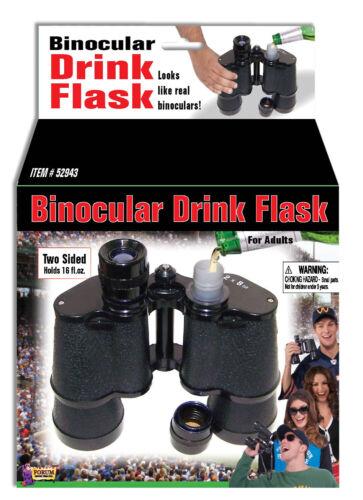 Forum Novelties Binocular Drink Flask 16oz Halloween Costume Accessory 52943