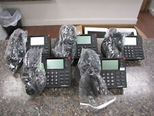 Lot Of 5 Shoretel 230 Black Ip Business Phones With Stands And Handsets Qty