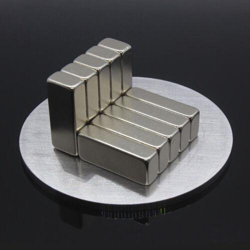 1Pc 20x8x5mm Super Strong Blocks Bar Rare-Earth Neodymium Fridge Magnet Gracious