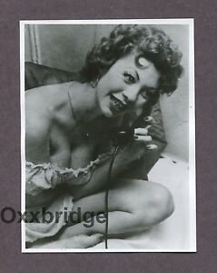 PEPPER POWELL Burlesque Star Queen 1950 ORIGINAL VINTAGE NUDE PINUP PHOTO B2713