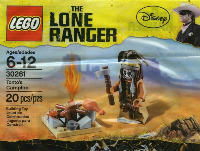 LEGO 30261 Tonto's Campfire Polybag - Brand New Sealed