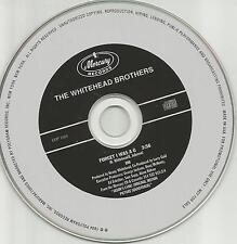 THE WHITEHEAD BROTHERS Forget I was A G PROMO Radio DJ CD Single 1994 Bros USA