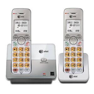 Cordless-Telephone-2-Pc-Landline-Portable-Wireless-Mobile-Best-Home-Office-P