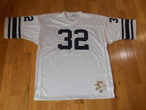 save off 8c54f 40e1d Details about adidas JIM BROWN SYRACUSE ORANGE Authentic NCAA Throwback  Team JERSEY 52 XL 3XL
