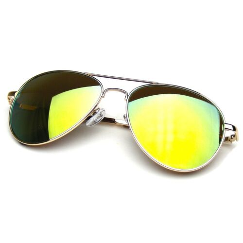 Polarized Sunglasses Women Men Case Vintage Sports Driving Mirrored