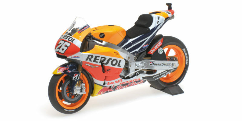 Honda RC213V Repsol Dani Pedrose MotoGP 2015 1 12 Model MINICHAMPS