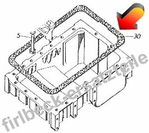 D162 Hanomag Kopfdichtungssatz Motor: D161 Robust 901 Brillant 701
