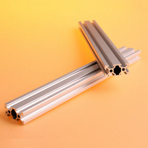2PCS 600mm 2040 T-Slot Aluminum Extrusion Profile 20mm x 40mm for CNC 3D Printer