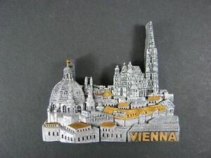 Magnet-Wien-Vienna-Stephansdom-Austria-Osterreich-Souvenir-Resin-NEU