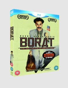 Borat-Blu-ray-Region-Free-Starring-Sacha-Baron-Cohen-Free-Shipping-NEW