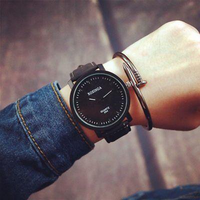 Vorsichtig Uhren Männer Top-marke Luxus Retro Design Pu Lederband Analog Legierung