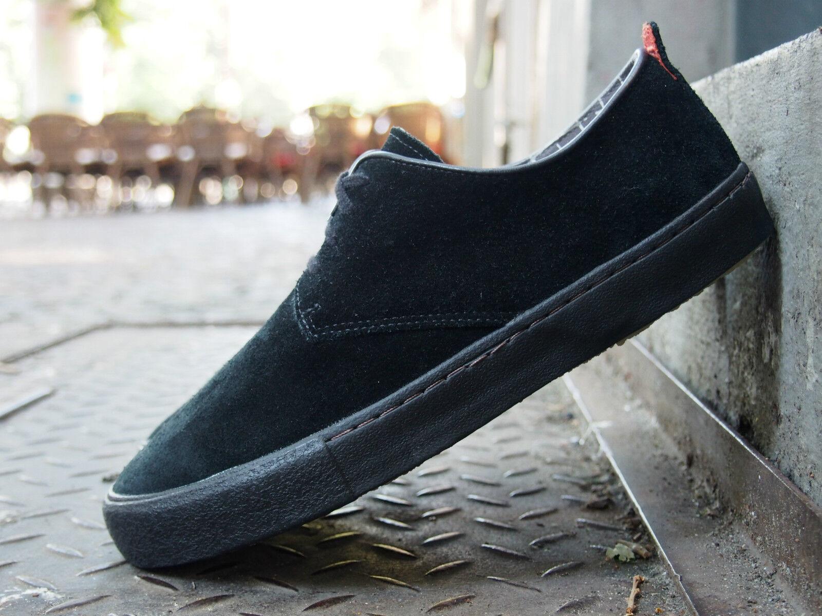 Clarks Originals Schuhe DESERT VULCLO schwarz Echtleder Schnürer NEU Halbschuhe