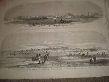 India (Pakistan) Lahore and Phulloor 1846 prints