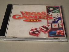 Vegas Games 2000 - PC CD Computer Game