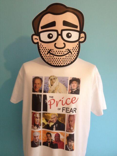 Vincent Price T-Shirt (Dr. Phibes / Edward Scissorhands / Edgar Allan Poe)