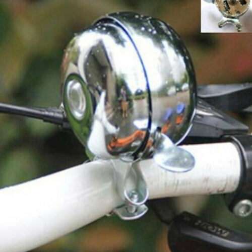 Mountain Bike Safety Bell Rings Bicycle Bells Silver Color 1PC Cycling Bell CF