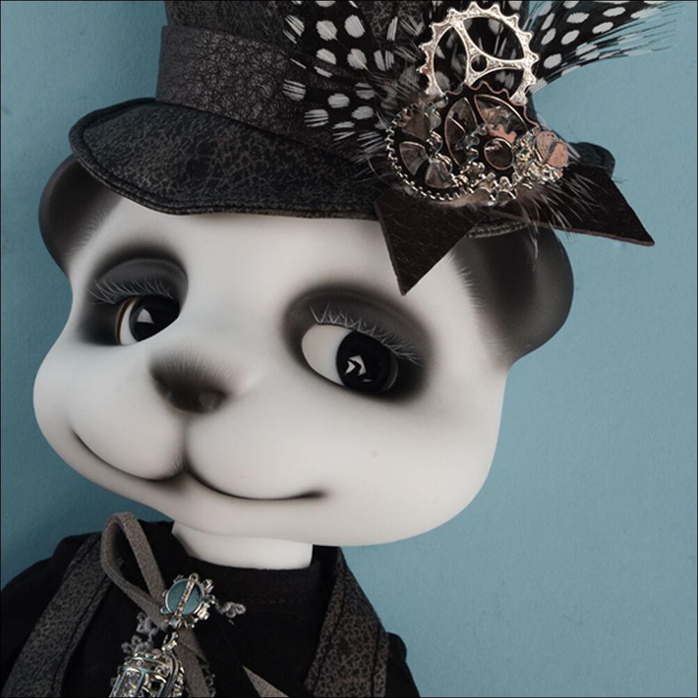 DOLLMORE 1 6BJD Bear DOLL Urgom Doll - Souvenir Boyish Urgo (Panda) - LE10