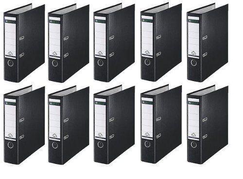 10 LEITZ Ordner 1010-50-95 Schwarz Kunststoff 8cm Plastik PP Aktenordner 80mm   Deutschland Online Shop    Qualitativ Hochwertiges Produkt    Ausgezeichnete Leistung