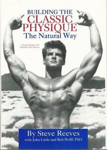 Building-the-Classic-Physique-the-Natural-Way-by-Steve-Reeves-Hc-Dj