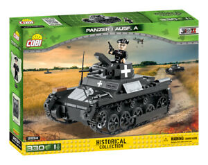 Cobi 2534 (330pcs) - German Panzer I Ausf.A Tank - Building Blocks - WWII