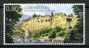Luxembourg-timbres-2019-neuf-sans-charniere-les-CASEMATES-du-Bock-chateaux-paysages-1-V-Set