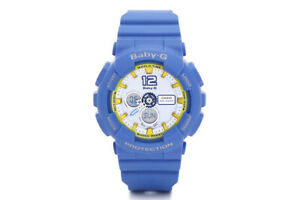 Casio-Baby-G-BA-120-Analog-Digital-Navy-Blue-x-Yellow-Accents-White-Dial-Watch