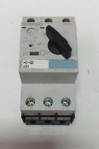 Siemens Sirius Manual Motor Starter Class 10 3rv1021 0fa10