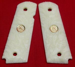 Colt-Firearms-Full-Size-1911-Ivory-Grips