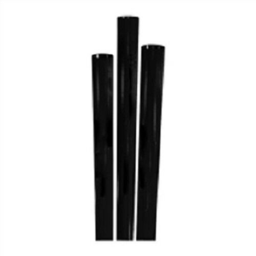 Case of 5000 Choice Jumbo Paper Wrapped Straw Black STNJM1970733-7.75 in