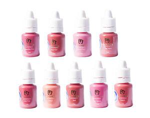 Semi-Permanent-Makeup-Pigments-LUANES-LIPS-Set-9-Colours-Micropigments-SPMU