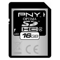 Pny 16g Sdhc Sd Card For Canon Powershot S95 100 300 500 Hs A1200 Hd Camera