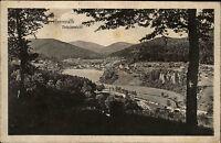 Herrenalb im Schwarzwald s/w Ansichtskarte 1921 gelaufen Totalansicht Panorama