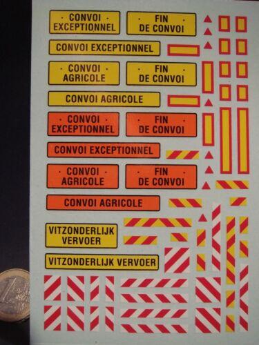 Decals 1//43 exceptional convoy farm-t386
