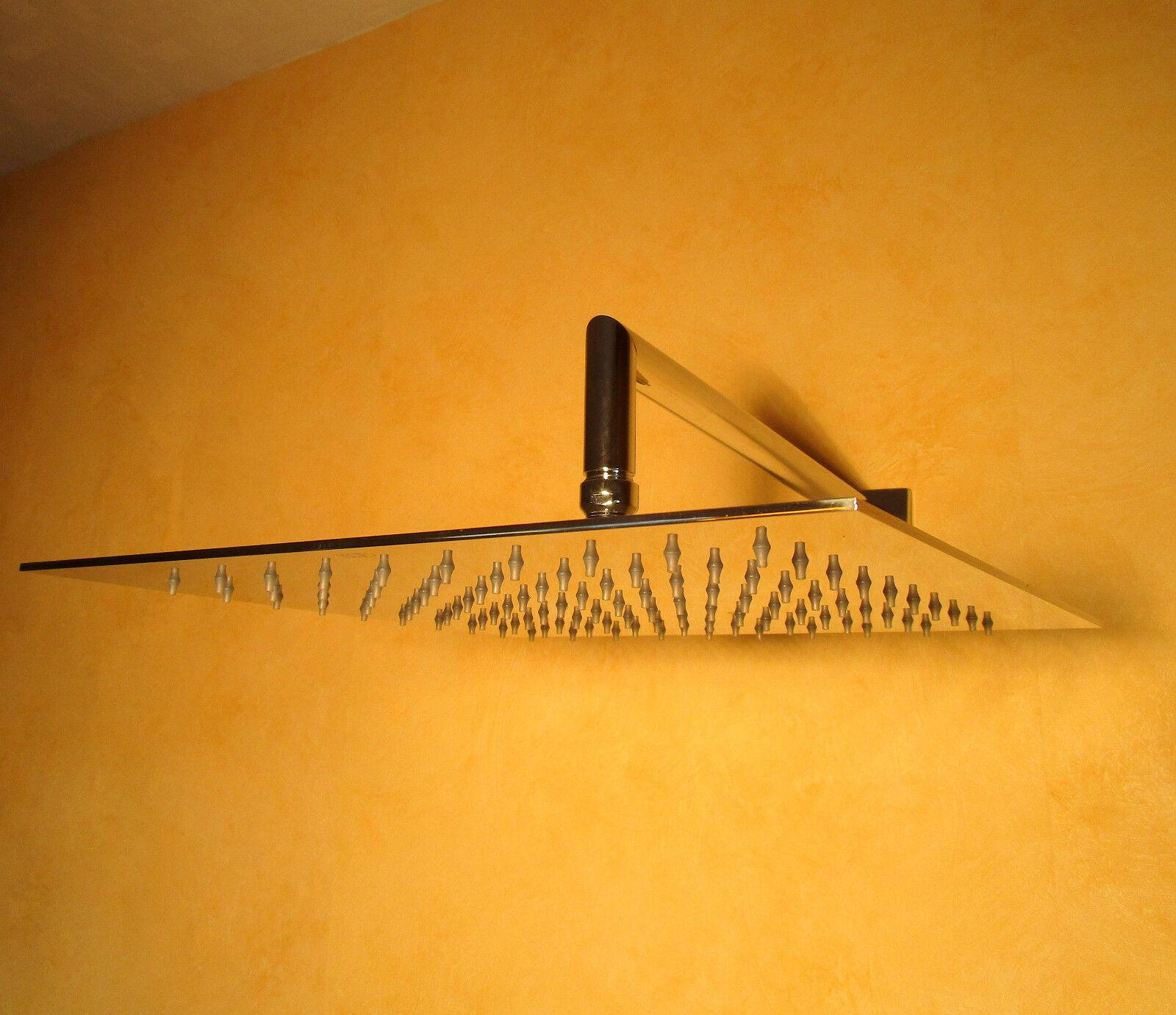 Gessi Emporio Antikalk-Kopfbrause 30x30cm Edelstahl glanz; Kopfbrause 47250238