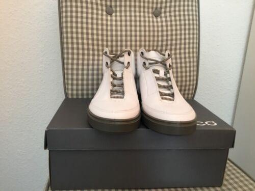 Ecco Kyle Herrenschuhe Sneaker Weis 530664-52292 Leder Gr:wählbar neu in Karton