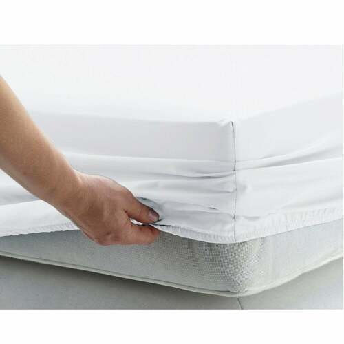 US Stock Bedding Collection White Solid 18 In 1000TC Egyptian Cotton Select Size