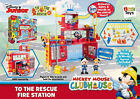 Mickey Mouse Club House to The Rescue Fire Station Disney Childrens