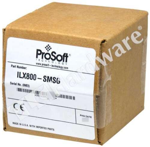 New Sealed ProSoft Technology ILX800-SMSG Micro800 SMS Plug-in Module Qty