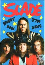 SLADE  POSTER. Glam rock.