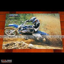 DAVID VUILLEMIN sur YAMAHA YZ 125 Modèle 1998 MOTO-CROSS - Poster Moto #PM1514