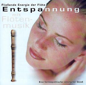 ENTSPANNUNG-MIT-FLOTENMUSIK-CD-TOP-ZUSTAND